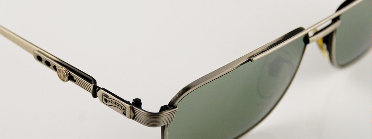 Metal Framed Sunglasses Gray 1280x480